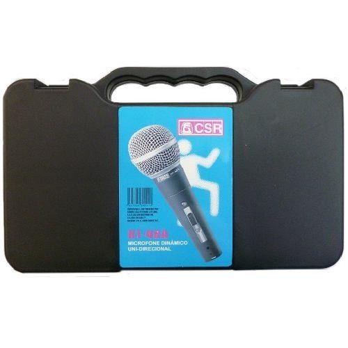 Microfone CSR 48a  - Transa Som Instrumentos Musicais