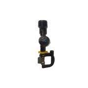 Microaspersor NaanDanJain Hadar 7110 Bocal Amarelo Rotor Invert. c/ Anti-Gota - Kit 10 Un. (Rosca 1/2