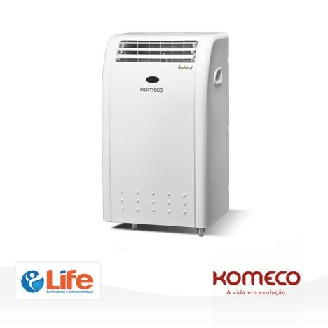 Ar Condicionado Portátil Komeco - 9000 BTUs - Frio e Quente
