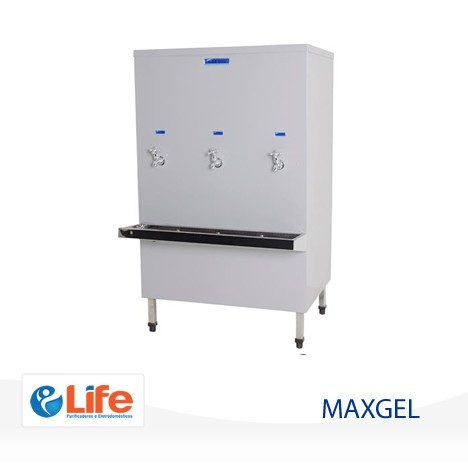 Bebedouro de Água Industrial Inox 200 Litros - MAX GEL