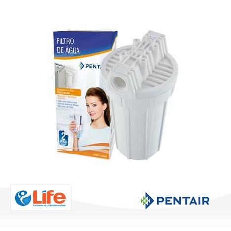 """Filtro Bebedouro POU 7"""" Carbon Block BR  -  Life Purificadores e Eletrodomésticos"""