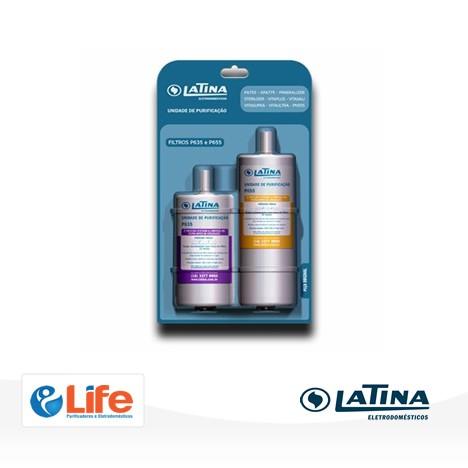 Filtro de reposição P635 + P655 - Latina
