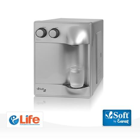 Purificador de Água Soft Plus Prata - 30 pessoas - Empresa