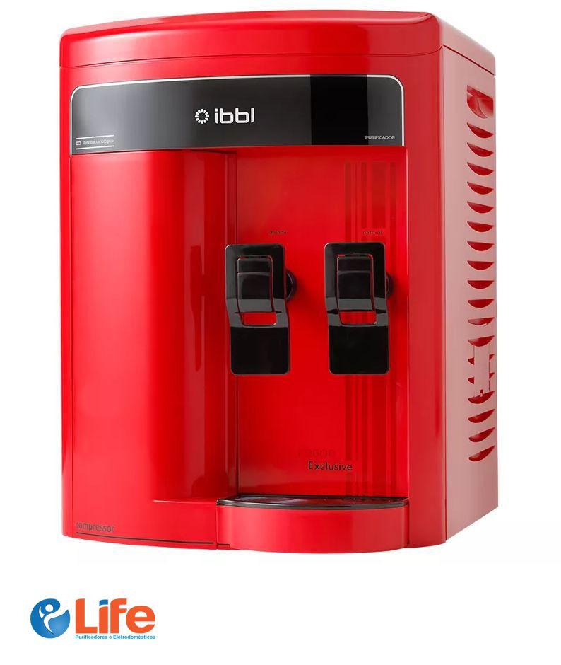 Purificador de Água FR600 Vermelho - IBBL Exclusive