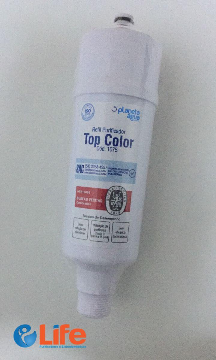 Refil Planeta Água Top Color (compatível c/ purificadores Colormaq)