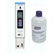 COMBO Condutivímetro Portátil Modelo COM-80 + Solução de Calibração 1.413us