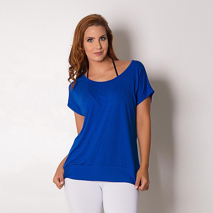 Blusa Go Fit Rio Azul