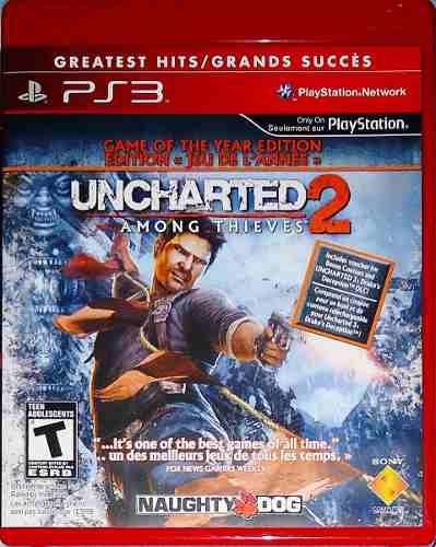 Jogo Uncharted 2 P/ Ps3