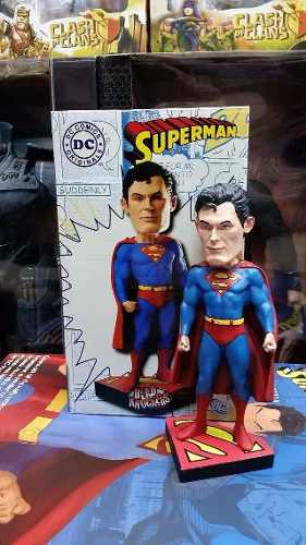Estatueta Superman - Dc Head Knocker - (super Homem)