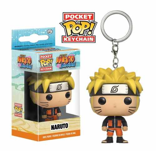 Chaveiro Naruto - Pocket Pop! Funko