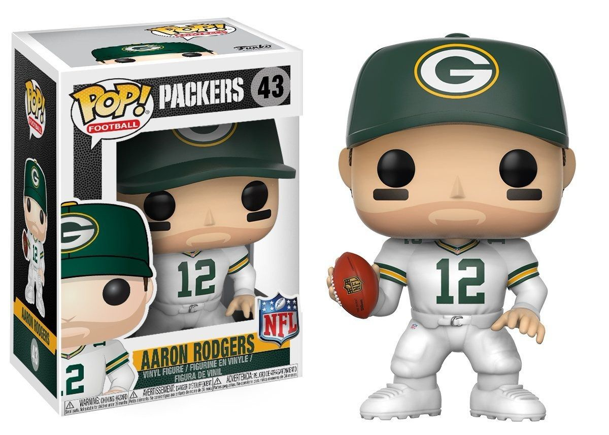 Aaron Rodgers - Packers NFL - Boneco Pop Funko