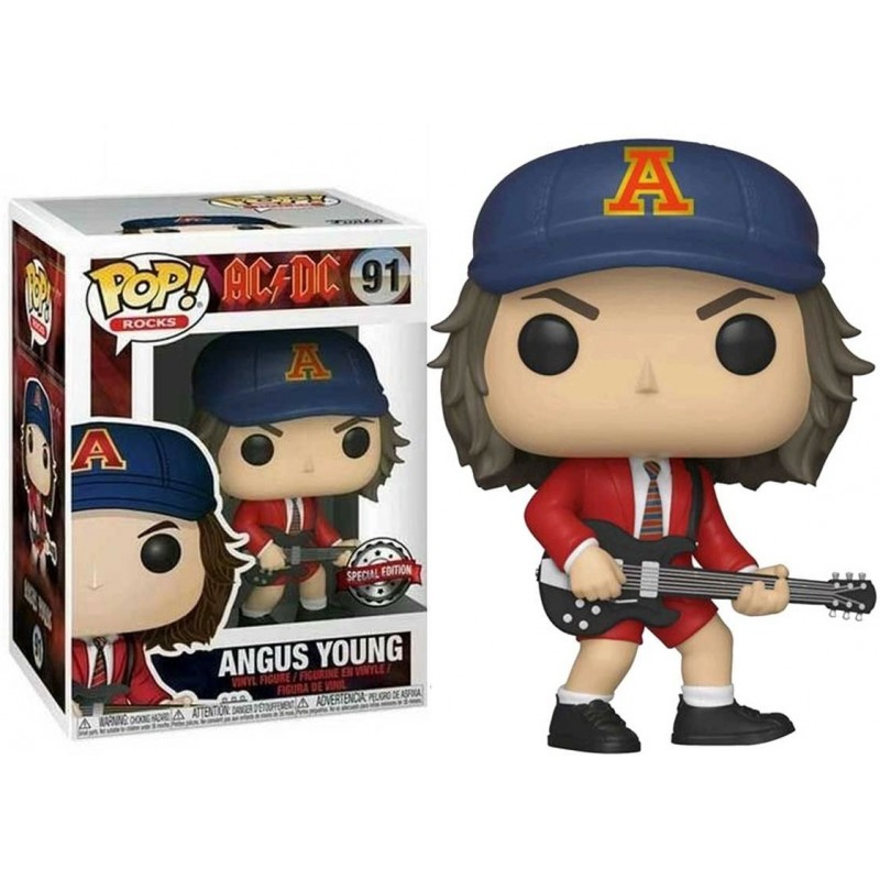 AC/DC Angus Young Special Edition Funko Pop