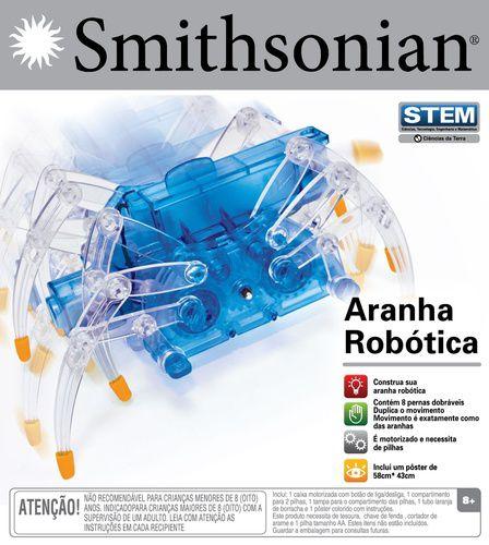 Aranha Robótica - Smithsonian - Abrakidabra
