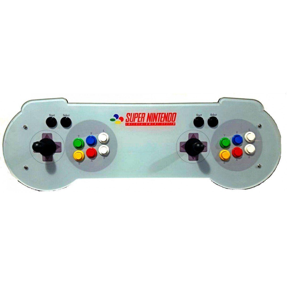 Arcade Fliperama Portatil com 14 mil Jogos desenho Controle do Super Nintendo