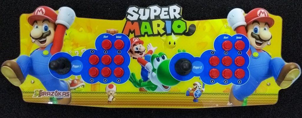Arcade Fliperama Portatil com 14 mil Jogos desenho Super Mario