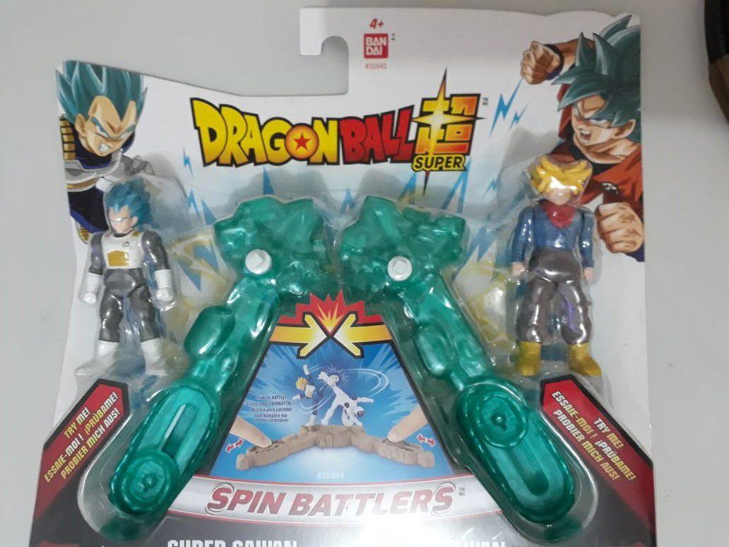 Arena De Batalha Dragon Ball - Blue Vegeta  e Trunks.