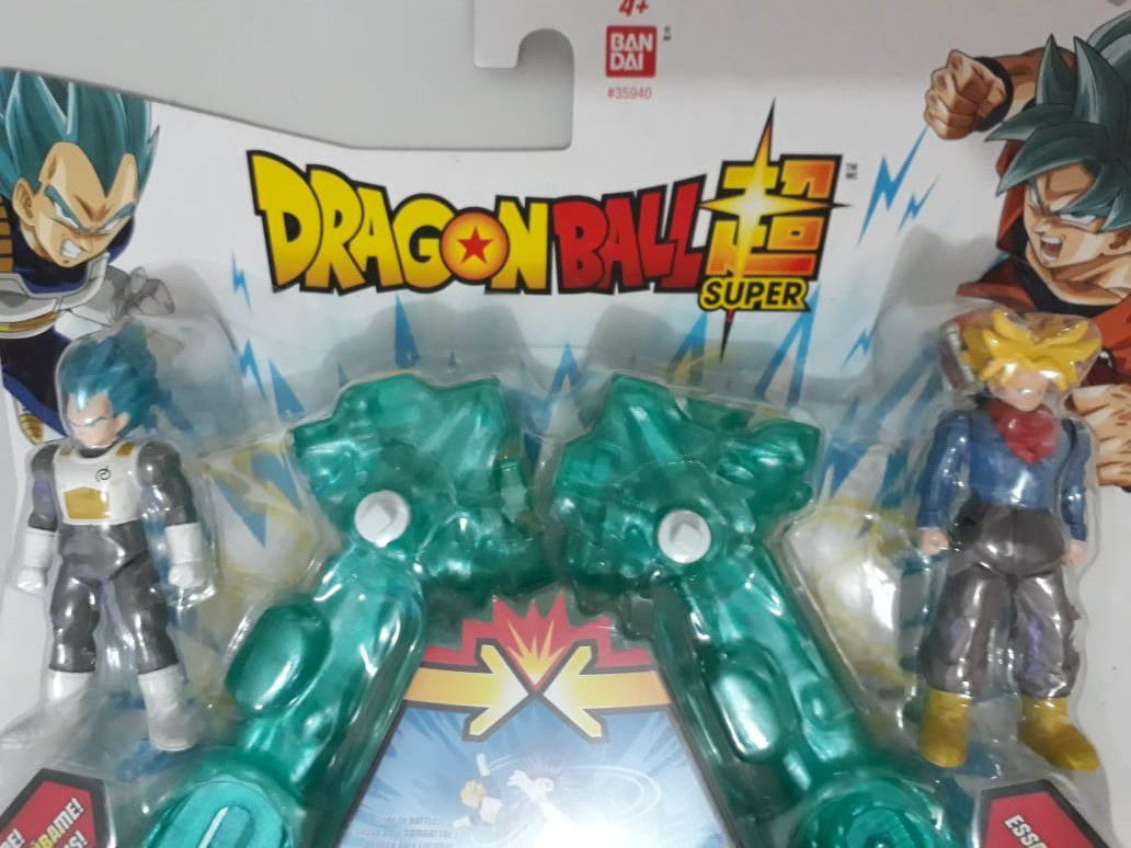 Arena De Batalha Dragon Ball - Blue Vegeta  e Trunks.