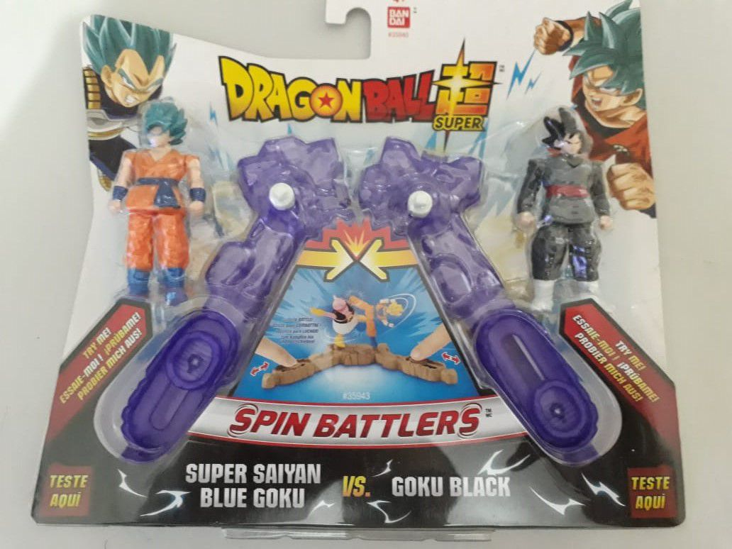 Arena De Batalha Dragon Ball Super Saiyajin Blue e Goku Black