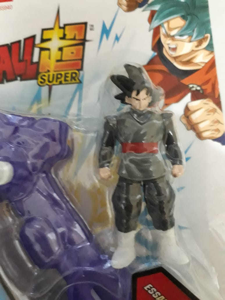 Arena De Batalha Dragon Ball Super Saiyajin Blue e Goku Black