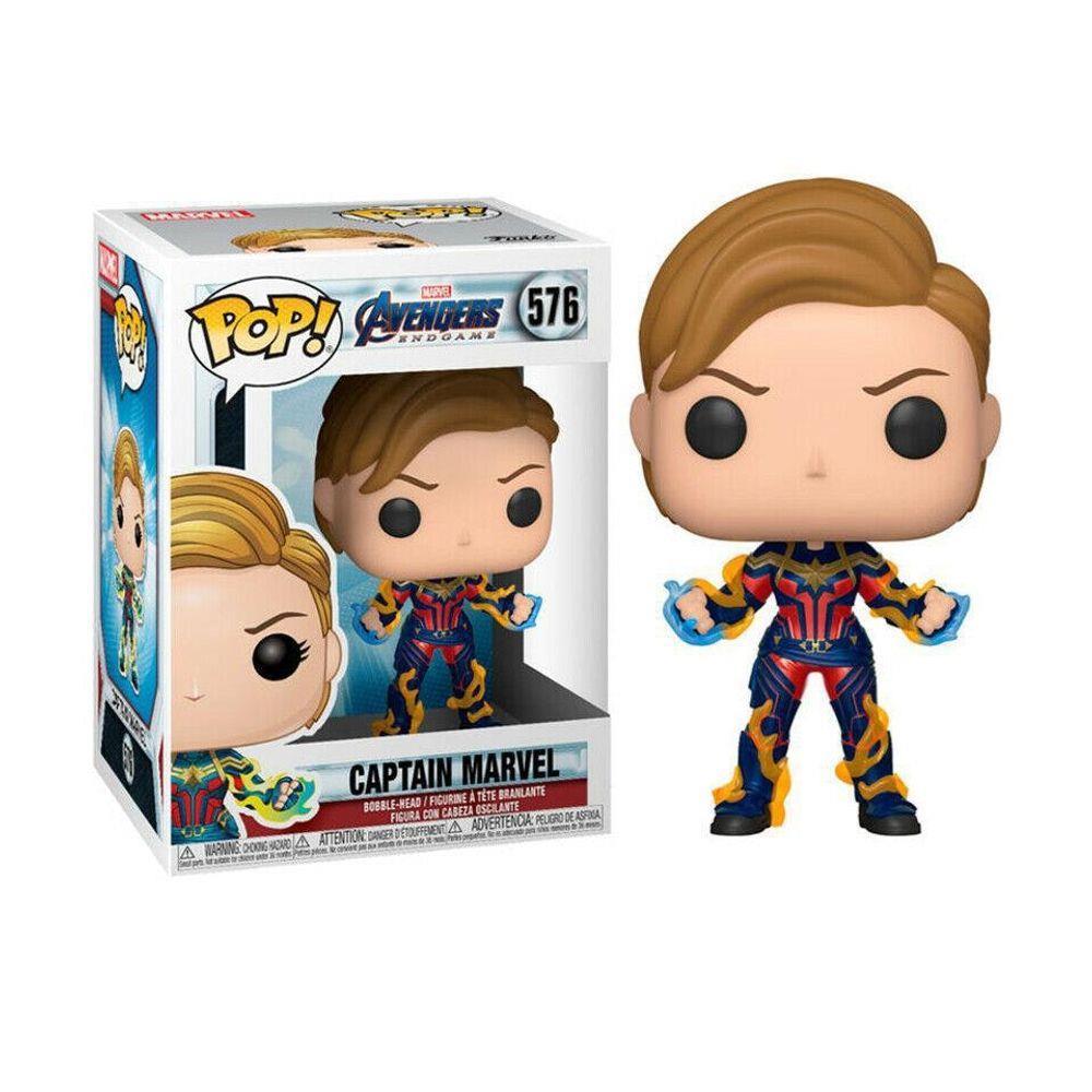 Avengers: Endgame - Captain Marvel Funko Pop