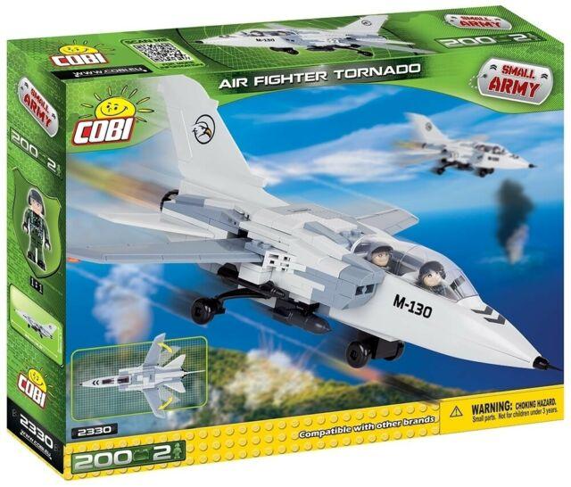 Avião Tornado - 200 Peças Cobi Blocos de Montar