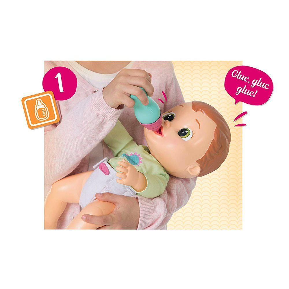 Boneco Baby Wee Max com Mamadeira - Brinquedos Chocolate