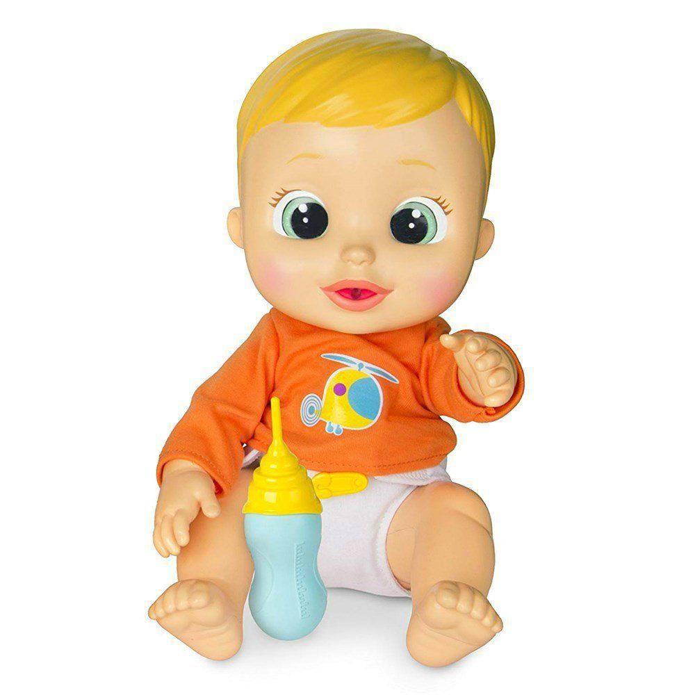Boneco Baby Wee Nick Com Mamadeira Brinquedos Chocolate