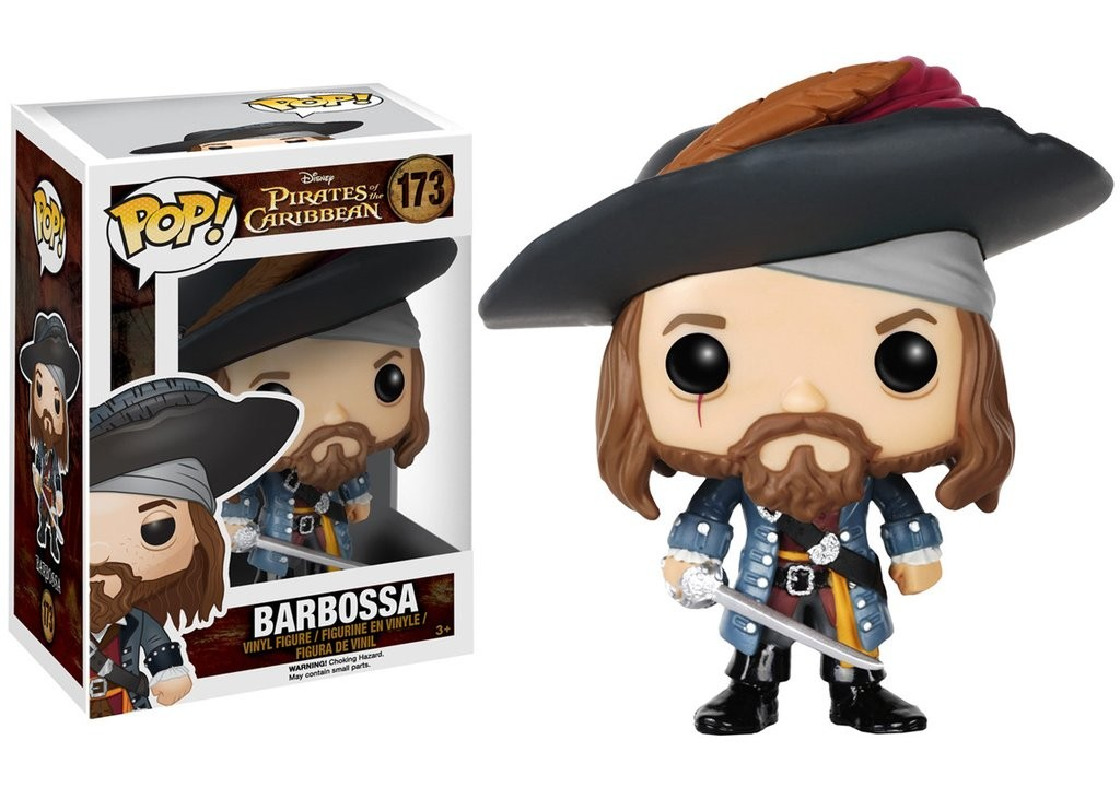 Barbossa Funko Pop! Disney: Pirates