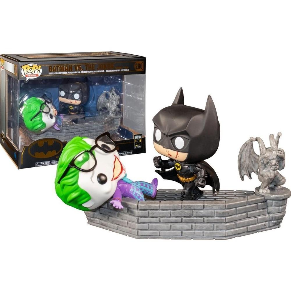Batman Vs The Joker Movie Moments Funko Pop Heroes