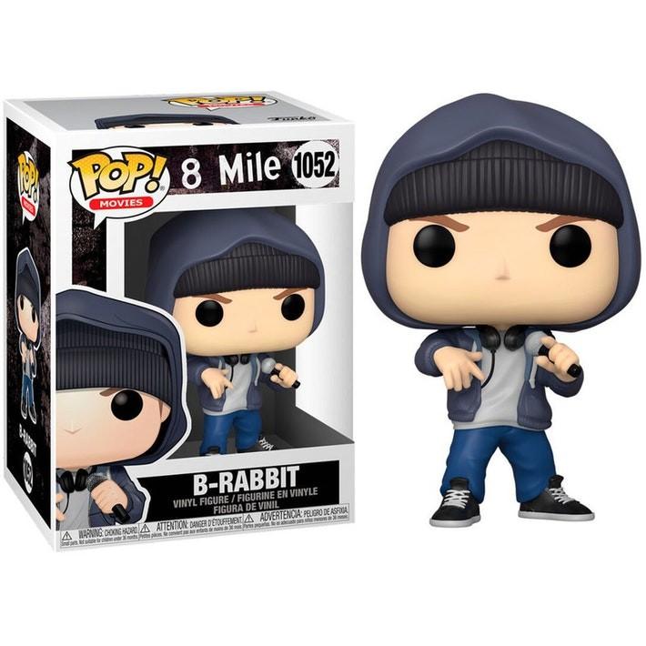 Boneco 8 Mile B-Rabbit Eminem Funko Pop