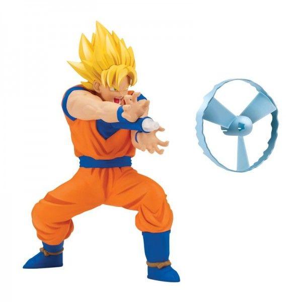 Boneco Dragon Ball Super Goku Super Sayajin com Lançador