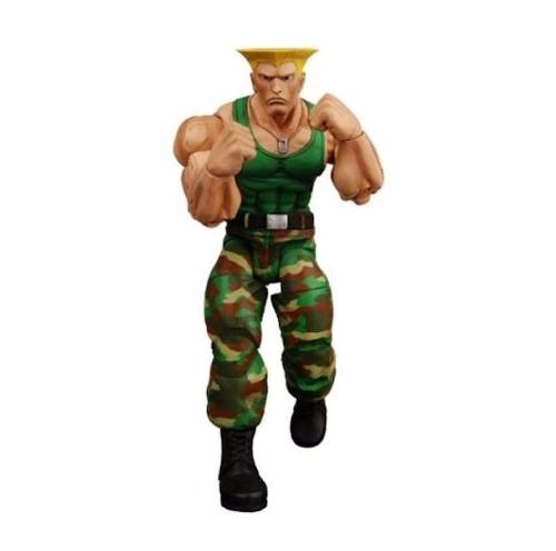 Boneco Guile Street Fighter - Neca