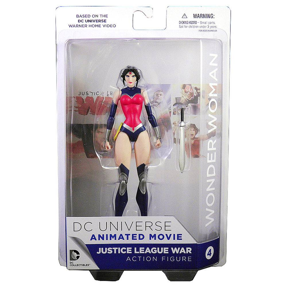 Boneco Mulher Maravilha Justice League  Wonder Woman - Dc Animated Movie