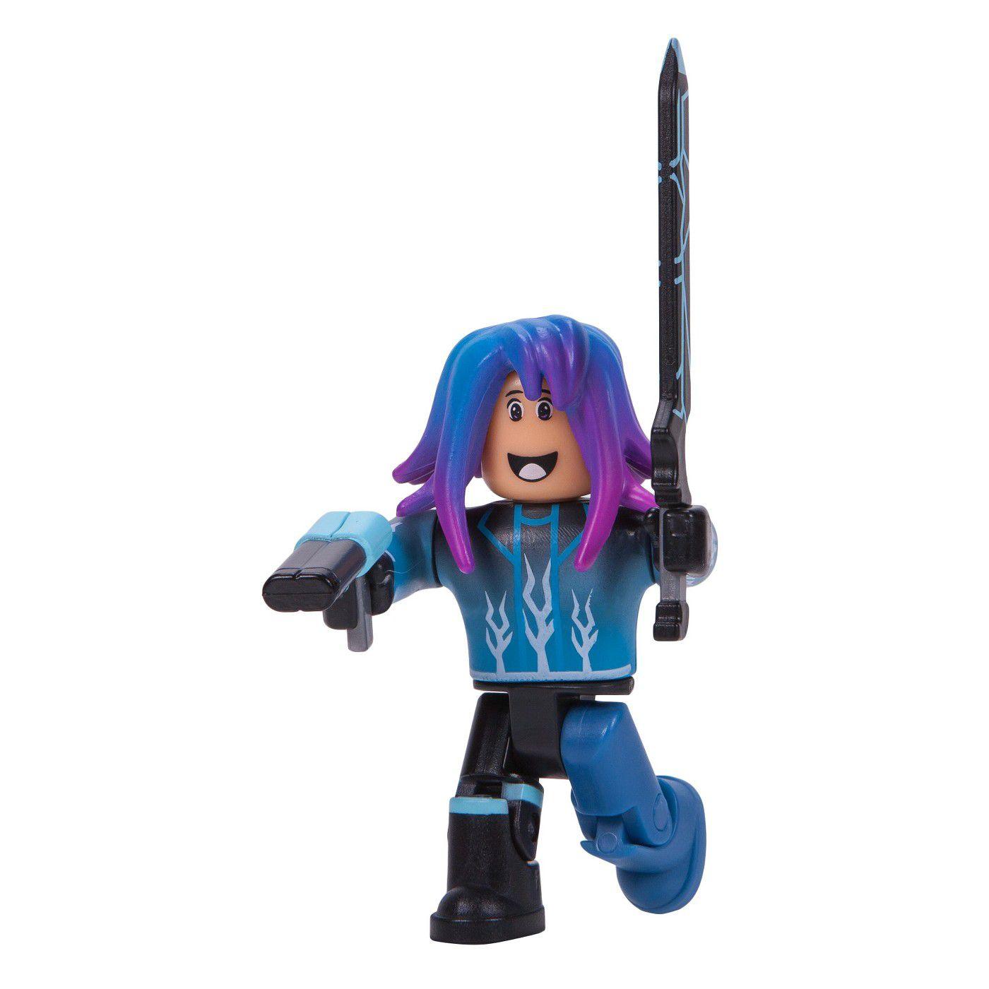 Boneco Roblox - Blue Lazer Parkour Runner