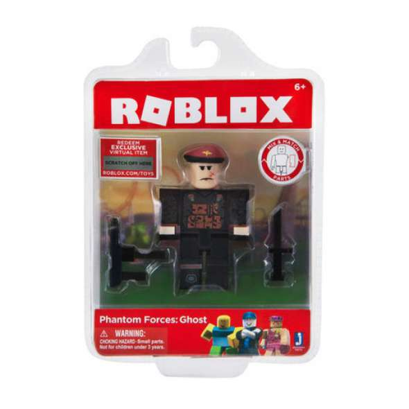 Boneco Roblox Phantom Forces: Ghost