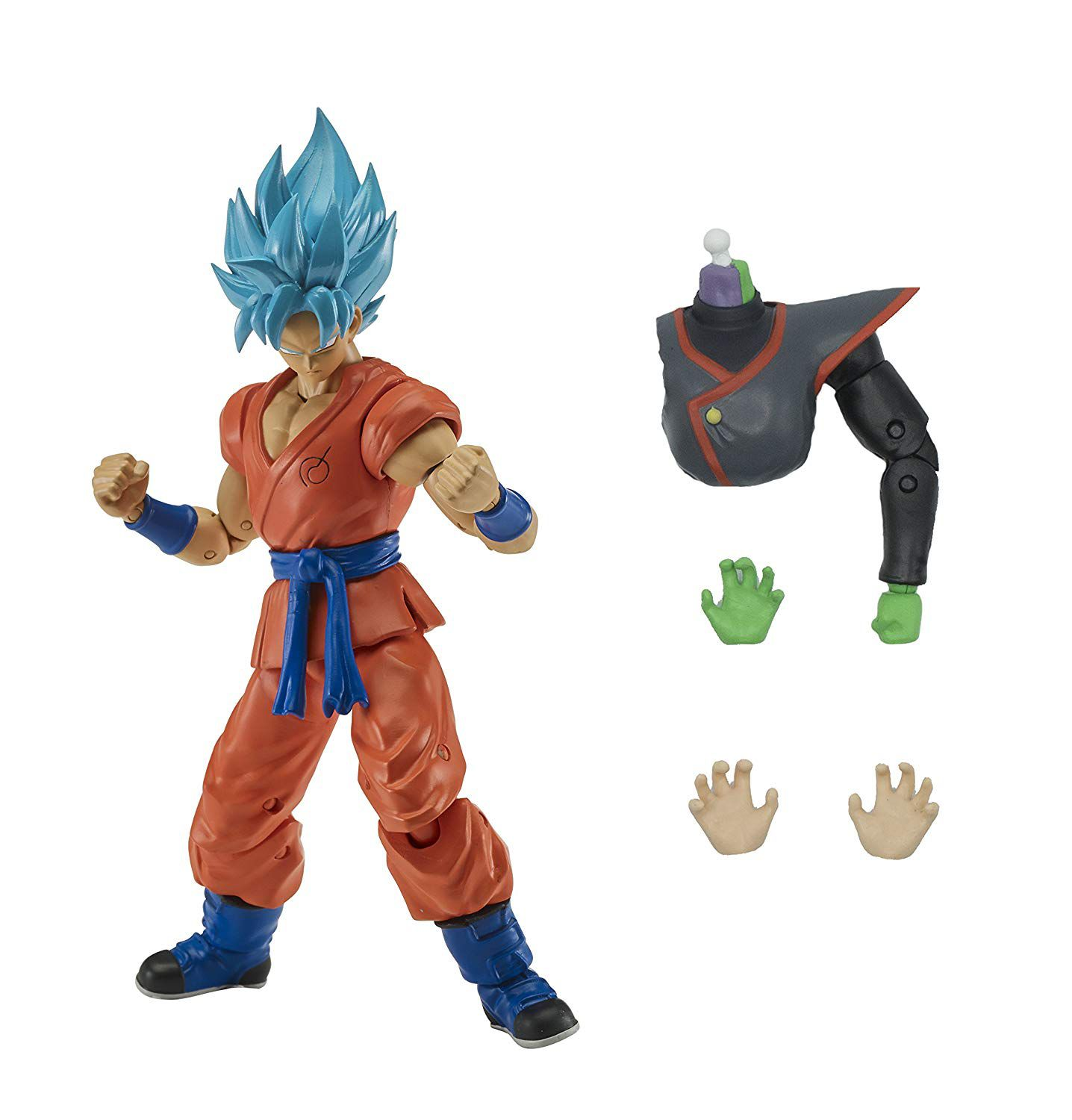Boneco Ssgss Blue Goku Dragon Ball - Dragon Stars Series 3