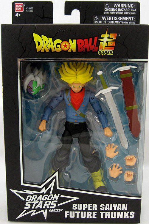 Boneco Trunks Dragon Ball - Dragon Stars Series 3