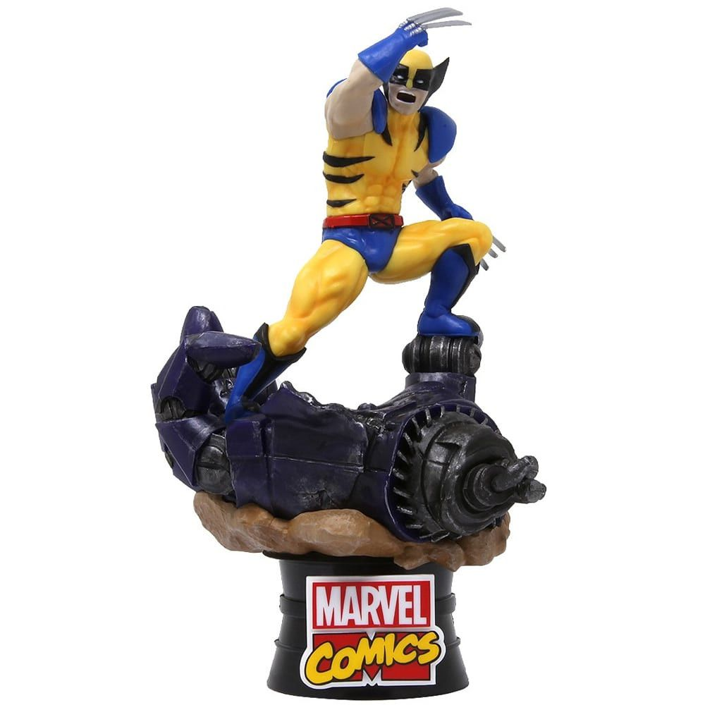 Boneco Wolverine - Marvel Comics - D-stage - Beast Kingdom