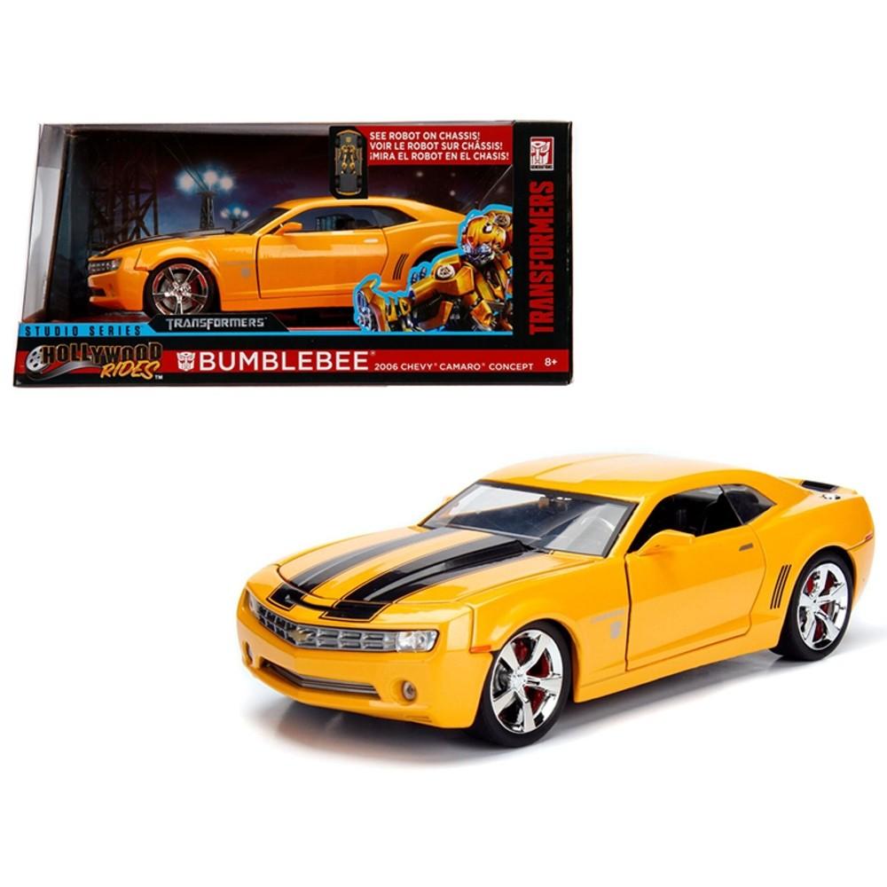 Bumblebee - 2006 Chevy Camaro Concept - Transformers - Hollywood Rides - 1/24 - Jada
