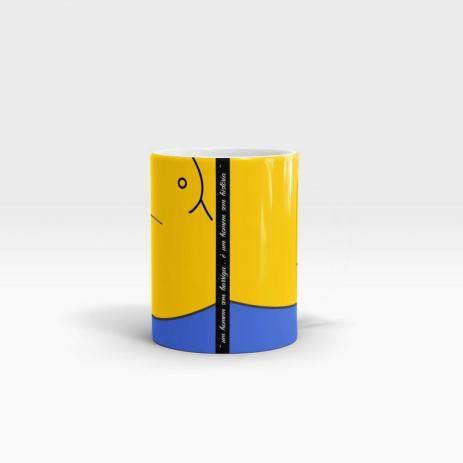 Caneca Personalizada Cerâmica Barriga - Beek