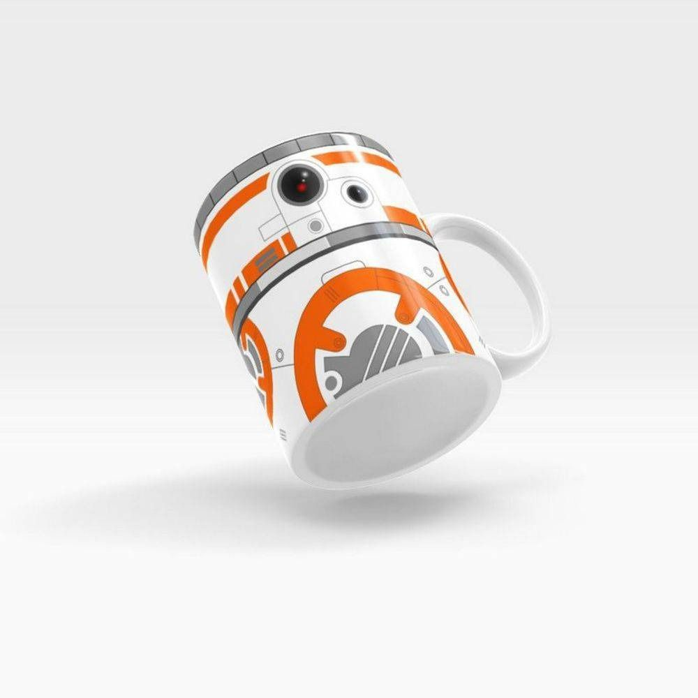 Caneca Personalizada Cerâmica Robô Laranja - Beek