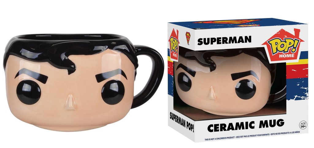 Caneca Pop! Home DC - Superman Pop! Ceramic Mug