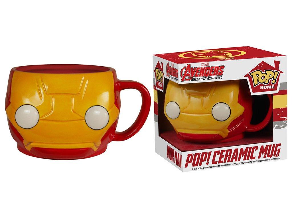 Caneca Pop! Home Iron Man Pop! Ceramic Mug