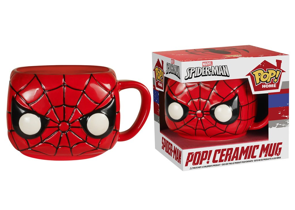 Caneca Pop! Home Spider-Man Pop! Ceramic Mug