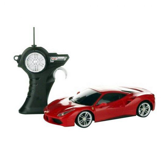 Carro Controle Remoto - Ferrari 488 GTB R/C - Vermelho - 1:24