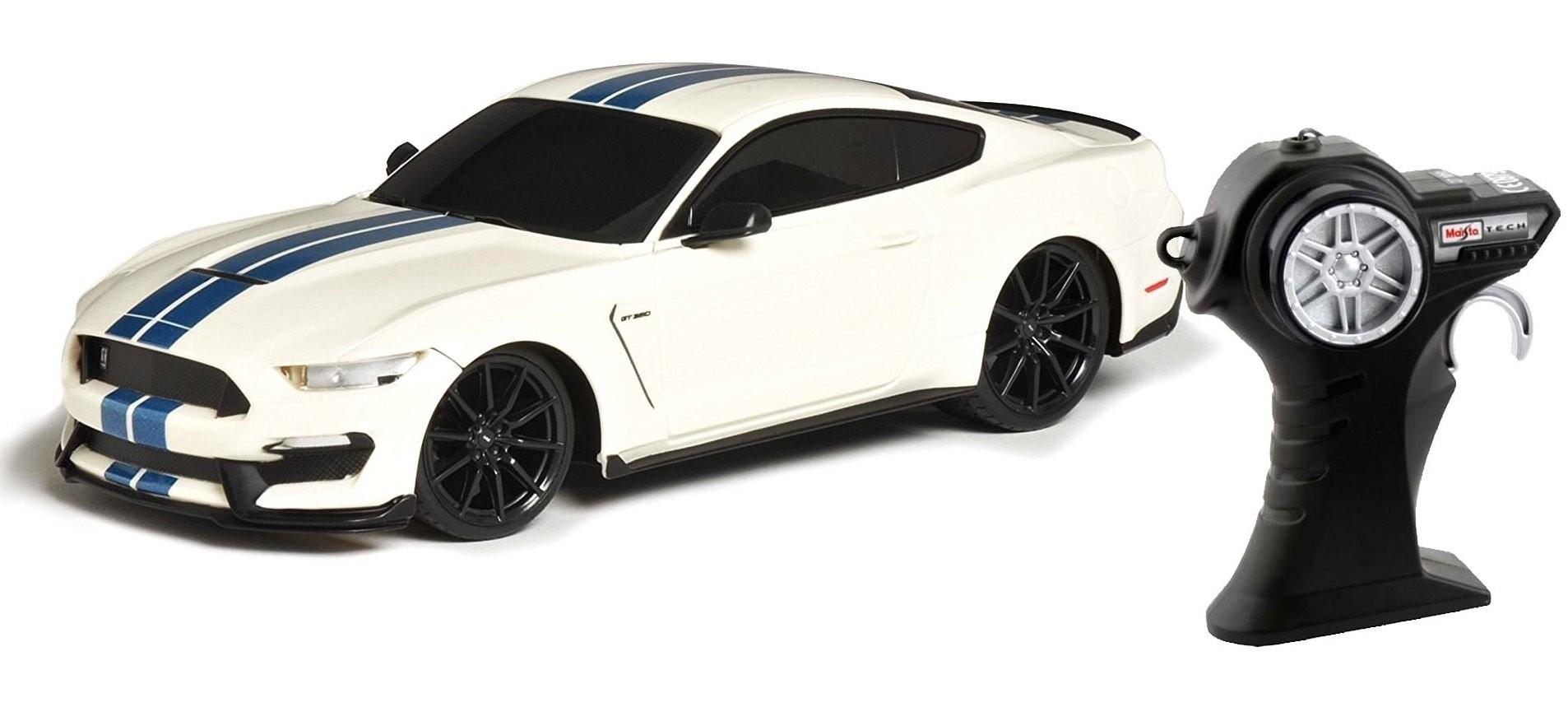 Carro Controle Remoto - Ford Shelby GT350 R/C - Branco - 1:24 - Maisto
