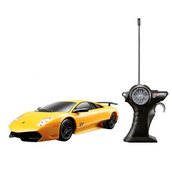Carro Controle Remoto Lamborghini Murciélago R/C 1:24 Maisto