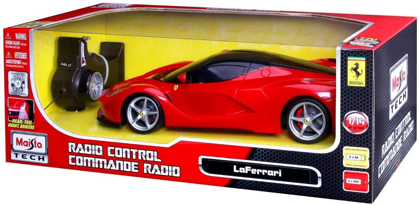Carro Ferrari LaFerrari Radio Controle -Maisto R/C 1:14