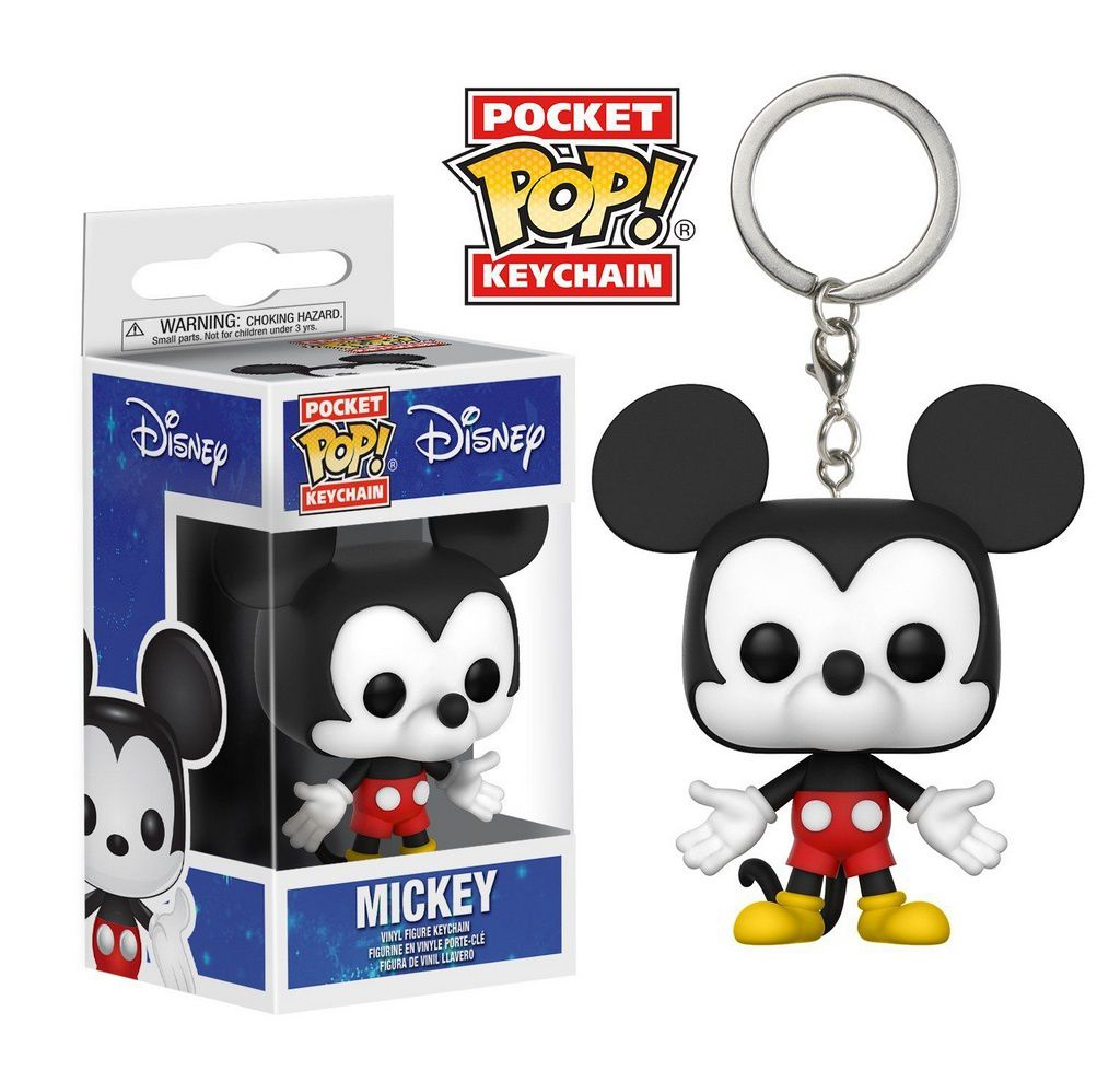 Chaveiro Funko Pop! Disney - Mickey Mouse