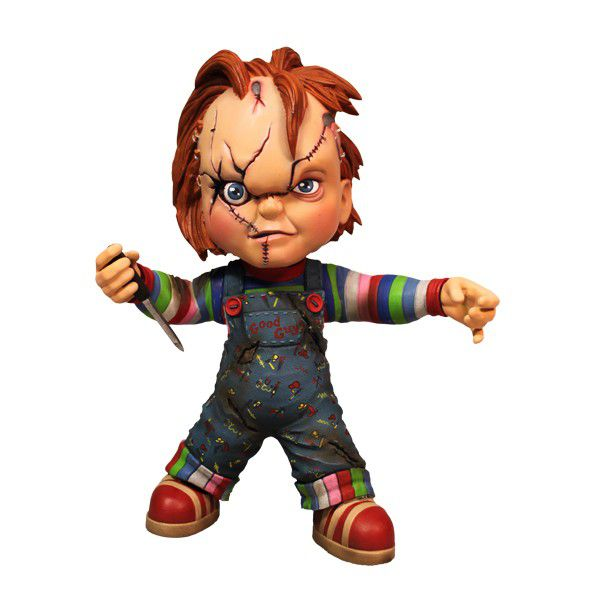 Chucky Roto - Child's Play - Brinquedo Assassino - Mezco